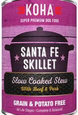 Koha KOHA Santa Fe Skillet Stew Beef & Pork Canned Dog Food 12.7oz