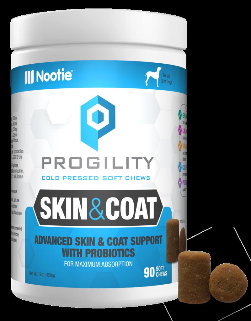 Nootie Nootie Progility Skin & Coat Soft Chew Dog 90ct