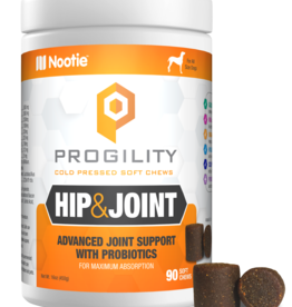 Nootie Nootie Progility Hip & Joint Soft Chew Dog 90ct