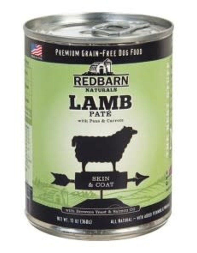 Red Barn REDBARN Lamb Pate Skin & Coat Can Dog 13oz