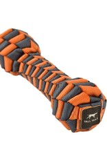"Tall Tails TALL TAILS Orange Braided Bone 9"" Dog Toy"