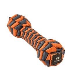 "Tall Tails TALL TAILS Orange Braided Bone 9"" Dog Toy"