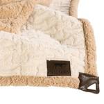 "Tall Tails TALL TAILS Sherpa Blanket Cream 40x60"""