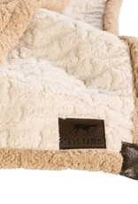 "Tall Tails TALL TAILS Sherpa Blanket Cream 30x40"""