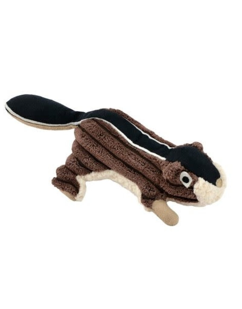 """Tall Tails TALL TAILS Chipmunk with Squeaker 5"""" Dog Toy"""