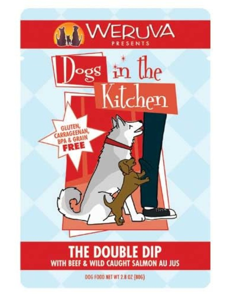 Weruva Weruva Double Dip Dog Food 2.8oz Pouch