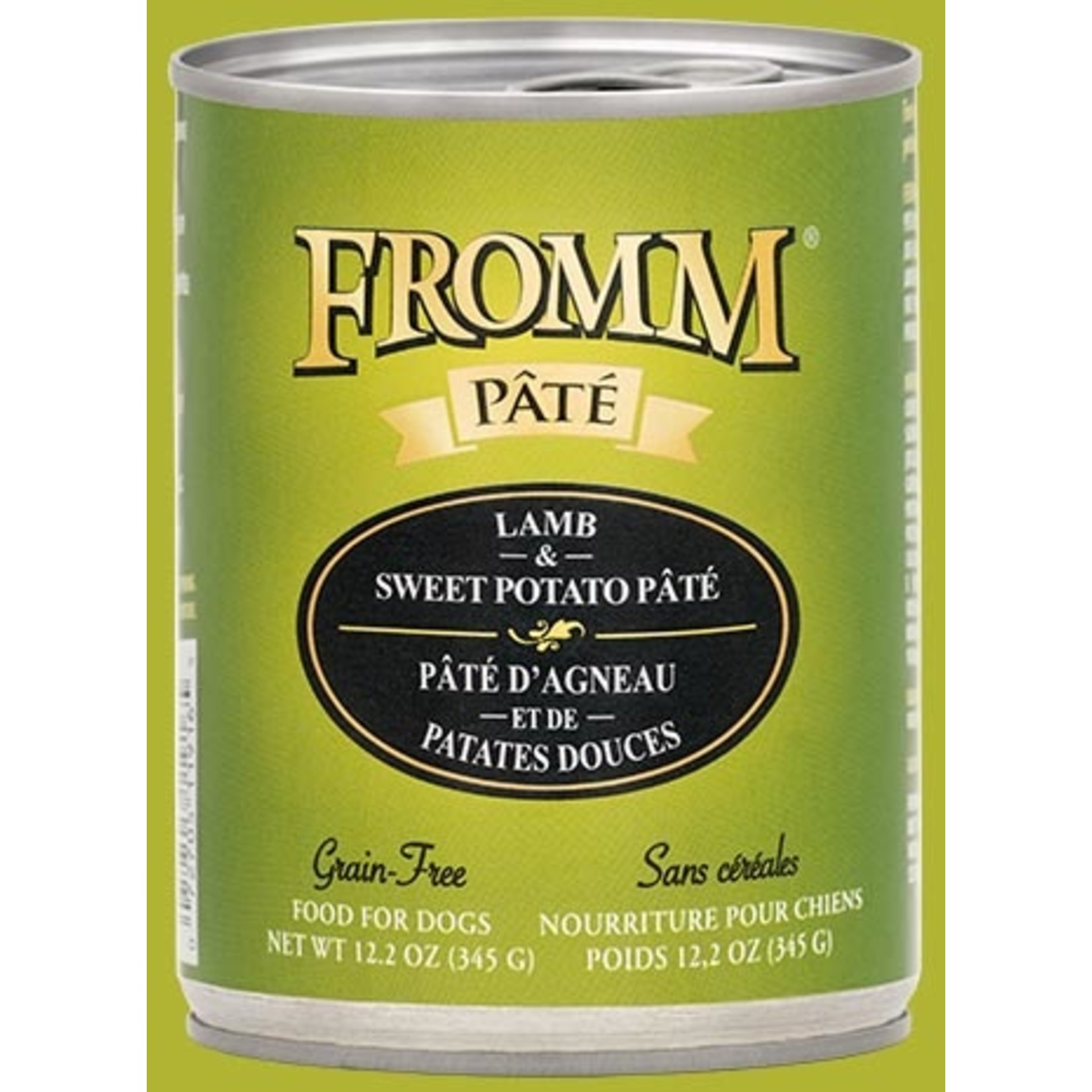 Fromm Family Fromm Lamb & Sweet Potato Pâté Canned Dog Food 12.2oz