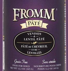 Fromm Family Fromm Venison Lentil Pâté Canned Dog Food 12.2oz