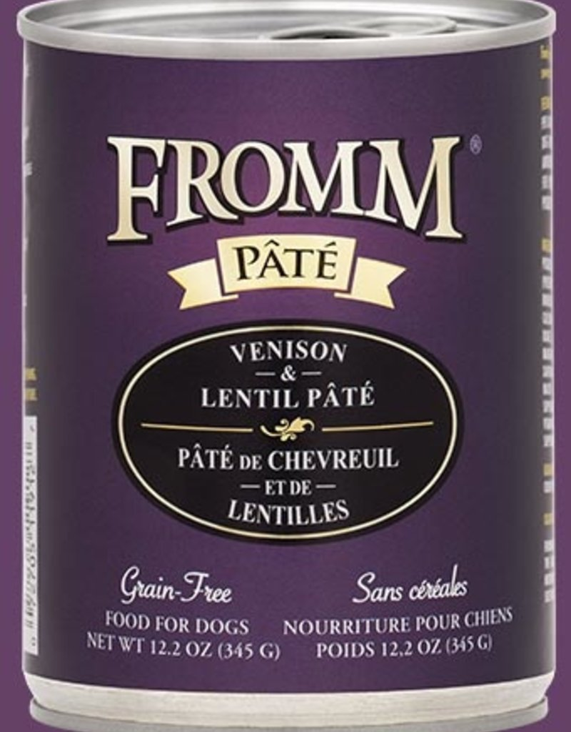 Fromm Family Fromm Venison Lentil Pâté Canned Dog Food 12.2oz