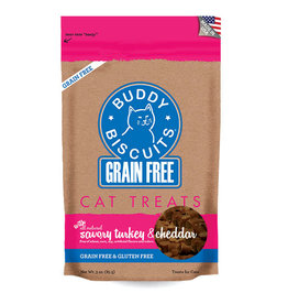 Cloud Star Buddy Biscuits Turkey and Cheddar Cat Treats 3oz