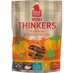 Plato Pet Treats PLATO Mini Thinkers Pumpkin and Turkey Dog Treats 6oz