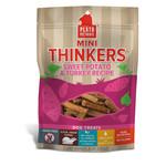 Plato Pet Treats PLATO Mini Thinkers Sweet Potato and Turkey Dog Treats 6oz
