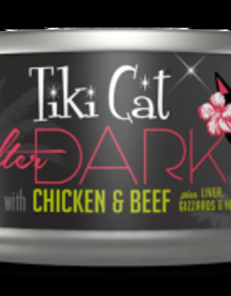 Tiki Cat & Tiki Dog Tiki Cat After Dark Chicken & Beef Canned Cat Food 2.8oz