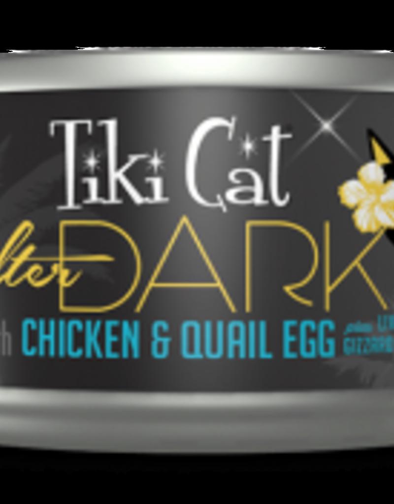 Tiki Cat & Tiki Dog Tiki Cat After Dark Chicken & Quail Egg Canned Cat Food 2.8oz