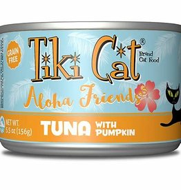 Tiki Cat & Tiki Dog Tiki Cat Aloha Friend Tuna & Pumpkin Canned Cat Food 3oz