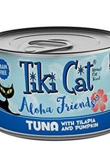 Tiki Cat & Tiki Dog Tiki Cat Aloha Friend Tuna with Tilapia & Pumpkin Canned Cat Food 3oz