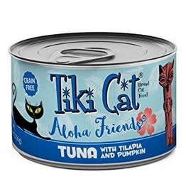 Tiki Cat & Tiki Dog Tiki Cat Aloha Friend Tuna with Tilapia & Pumpkin Canned Cat Food 3oz