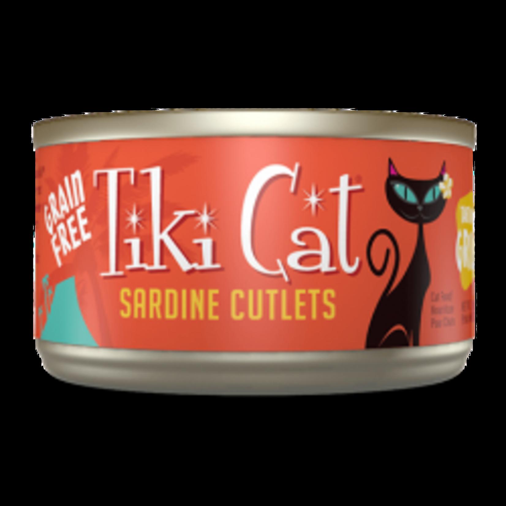 Tiki Cat & Tiki Dog Tiki Cat Tahitian Grill Sardine Cutlets Canned Cat Food 2.8oz