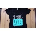 St PetersBARK! St. PetersBARK! Slim Fit V Neck T-Shirt Black