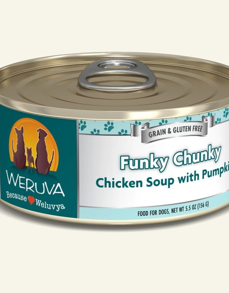Weruva Weruva Funky Chunky Chicken Soup with Pumpkin Canned Dog Food