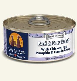 Weruva Weruva Bed & Breakfast with Chicken, Egg, Pumpkin, and  Ham in Gravy Canned Dog Food