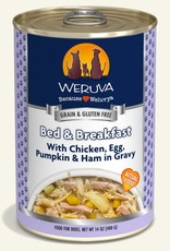 Weruva Weruva Bed & Breakfast with Chicken, Egg, Pumpkin, and  Ham in Gravy Canned Dog Food