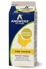 Answers Answers Detailed Raw Chicken Dog Food
