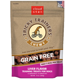 Cloud Star Tricky Trainers Liver Chewy Dog Treats