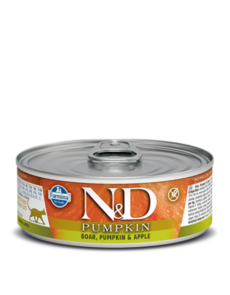 Farmina Farmina Pumpkin, Boar, and Apple Canned Cat Food 2.8oz