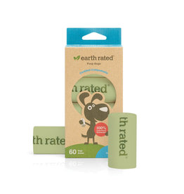 Earth Rated Earth Rated Compostable Poop Bags 60 Bags on 4 Rolls