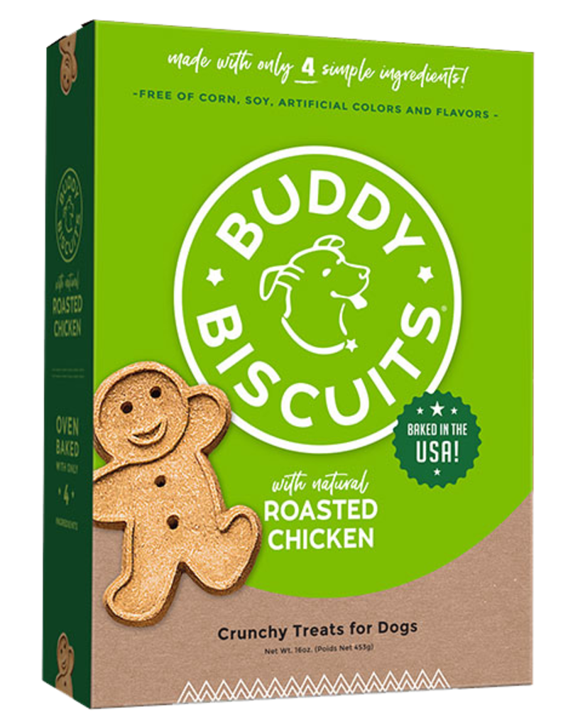Cloud Star Buddy Biscuits Oven Baked Roasted Chicken Dog Treats 16oz