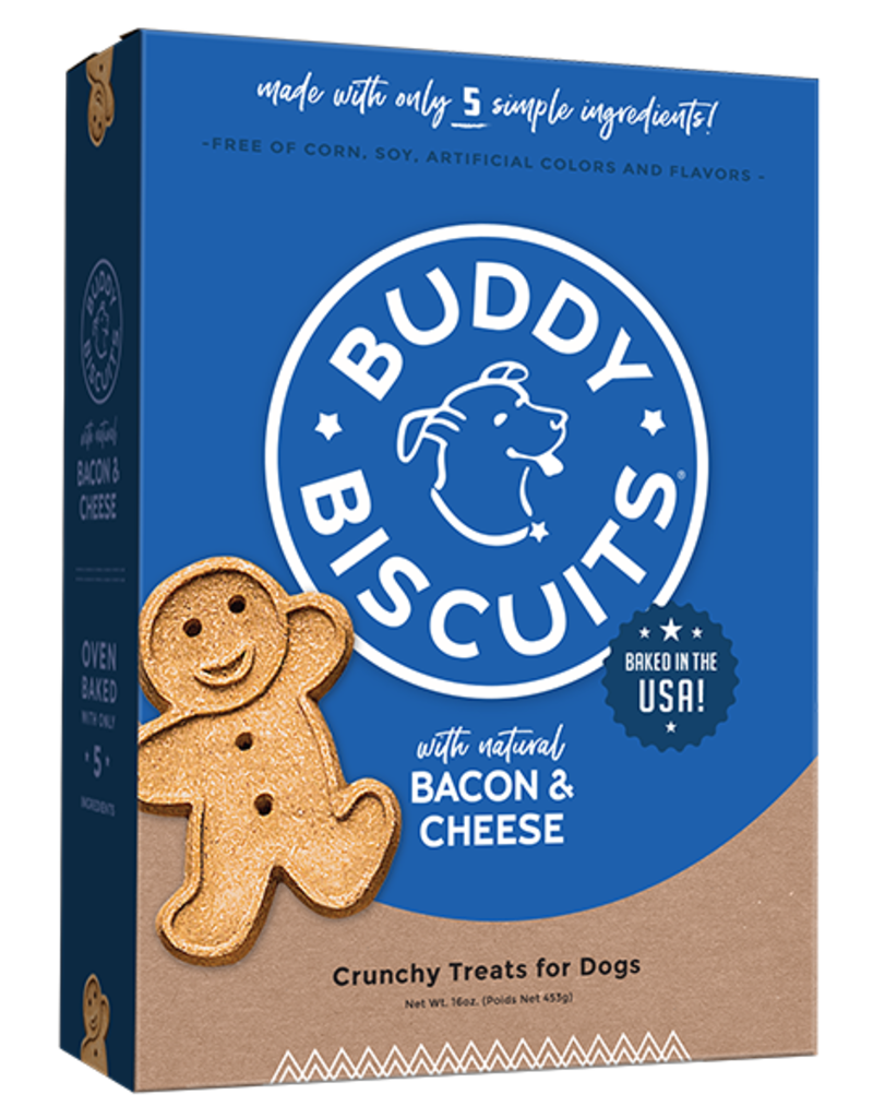 Cloud Star Buddy Biscuits Oven Baked Bacon & Cheese Dog Treats 16oz