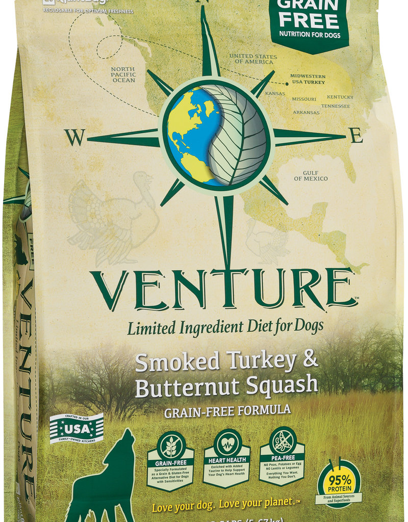 Venture Earthborn Venture GF Turkey and Butternut Squash Dog Food