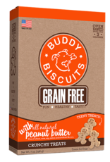 Cloud Star Buddy Biscuits Itty Bitty Grain Free Oven Baked Peanut Butter Dog Treats 7oz