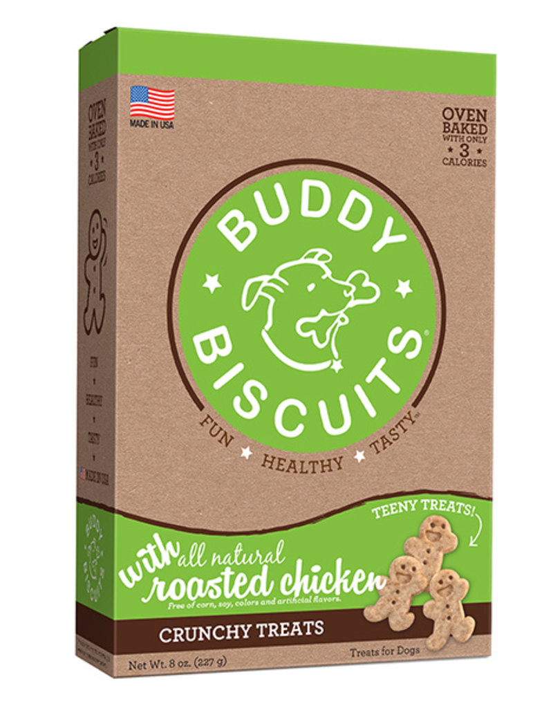 Cloud Star Buddy Biscuits Itty Bitty Oven Baked Roasted Chicken Dog Treats 8oz