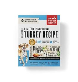 Honest Kitchen Marvel Dehydrated Limited Ingredient Turkey Dog Food 4#