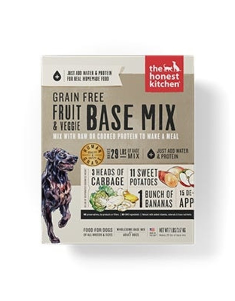 Honest Kitchen Preference Dehydrated Fruit and Veggie Base Mix Dog Food