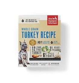 Honest Kitchen Keen Dehydrated Whole Grain Turkey Dog Food 10#