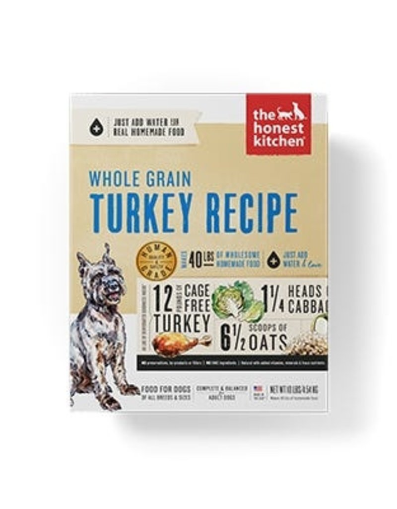Honest Kitchen Keen Dehydrated Whole Grain Turkey Dog Food 10#