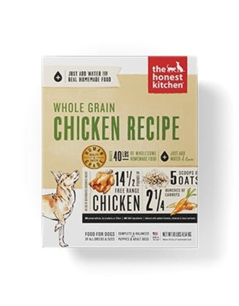 Honest Kitchen Revel Dehydrated Whole Grain Chicken Dog Food