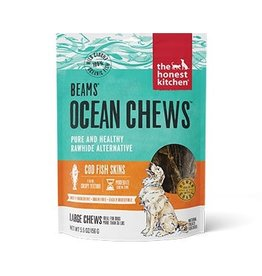 Honest Kitchen Beams Ocean Chews Cod Fish Skins Dog Treats 5.5oz