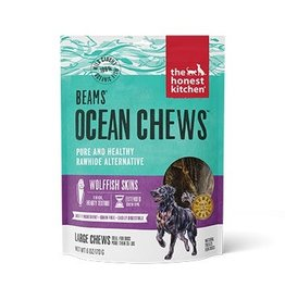 Honest Kitchen Beams Ocean Chews Wolffish Skins Dog Treats 6oz