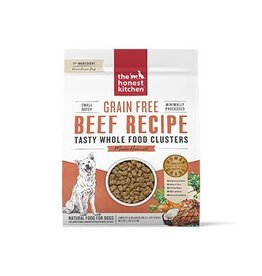 Honest Kitchen Whole Food Clusters Grain Free Beef Dog Food