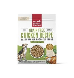 Honest Kitchen Whole Food Clusters Grain Free Chicken Dog Food