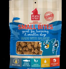 Plato Pet Treats PLATO Small Bites Salmon Dog Treats 6oz