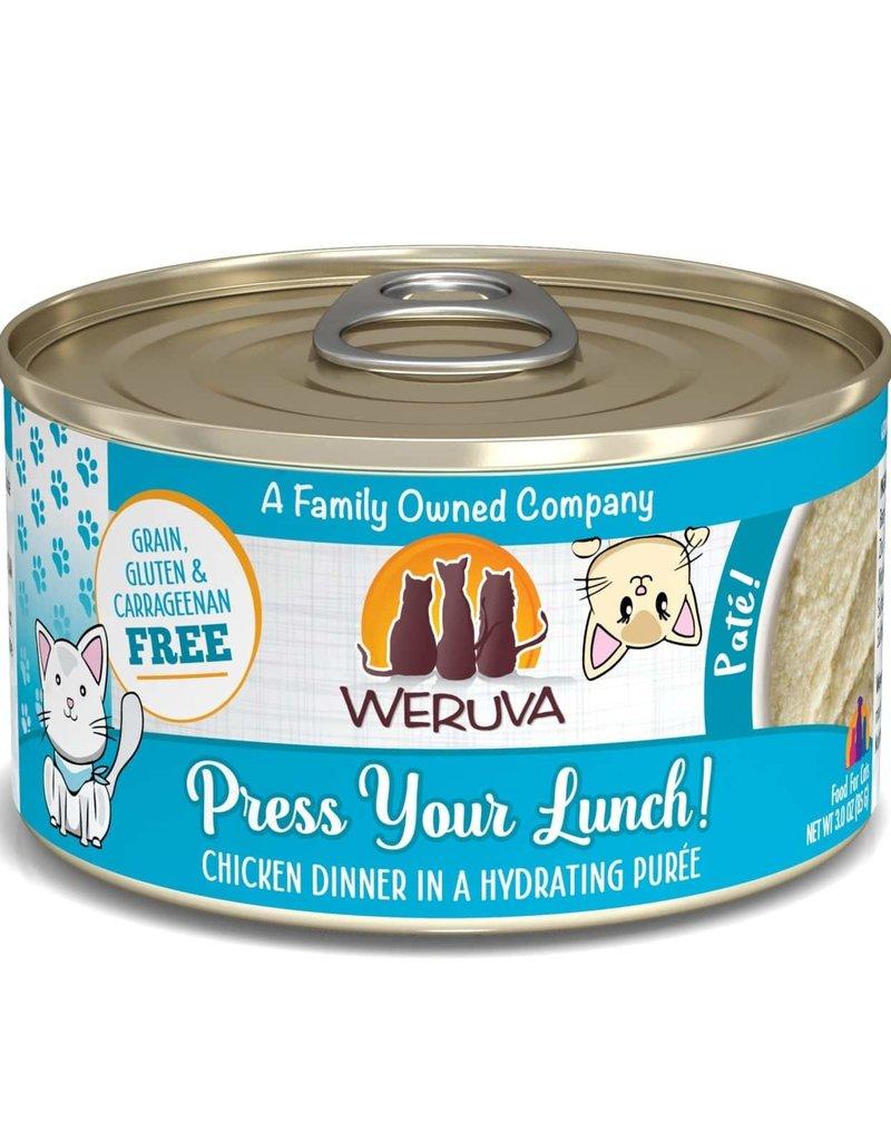 Weruva Weruva Press Your Lunch! Chicken Pate Cat Can 3oz