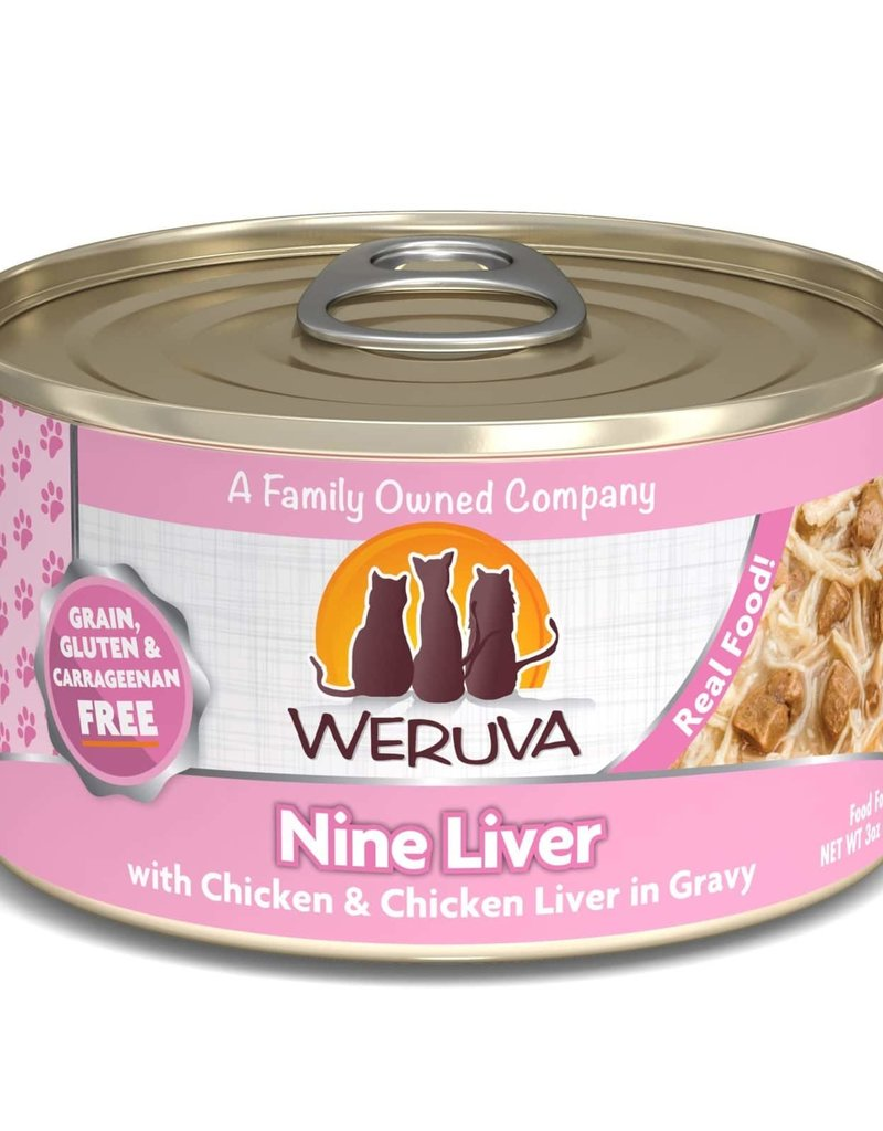 Weruva Weruva Nine Liver Cat Can 3oz