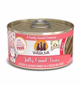 Weruva Weruva Jolly Good Fares Pate Cat Can 3oz