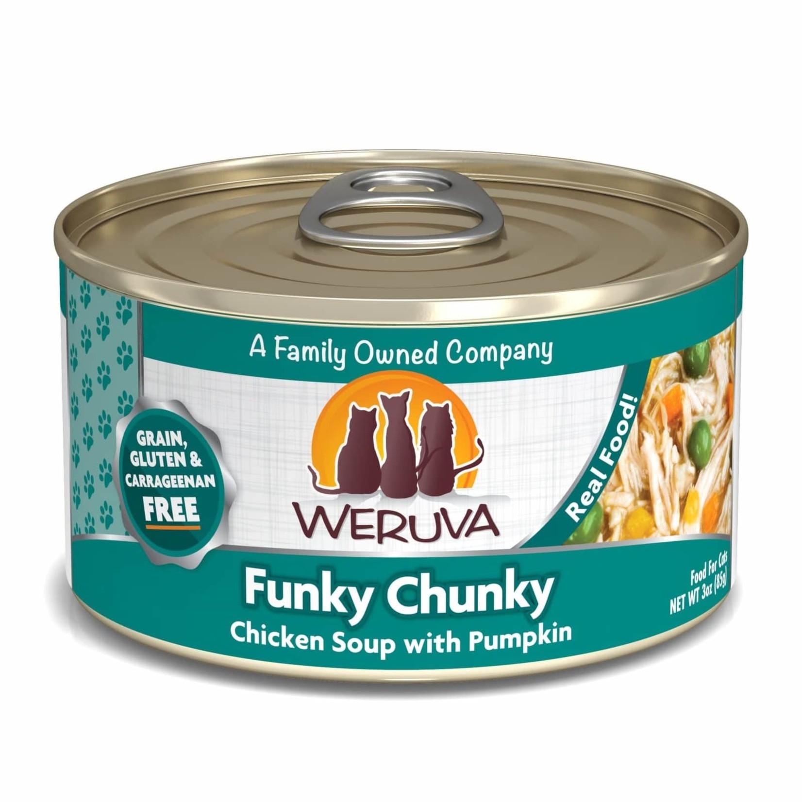 Weruva Weruva Funky Chunky Cat Can 3oz