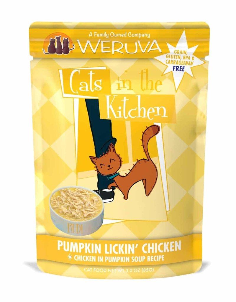 Weruva Weruva CITK Pumpkin Lickin' Chicken Cat Pouch 3oz